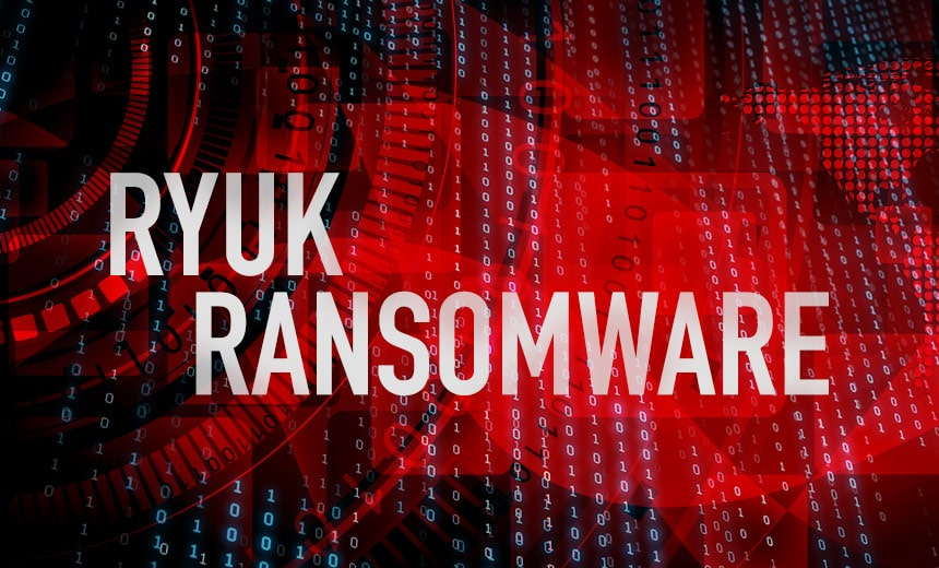 US Coast Guard discloses Ryuk ransomware hack.